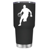 Basketball Player Silhouette 30 oz Tumbler