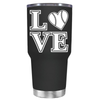 BaseBall Love Heart 30 oz Tumbler