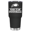 Personalized Football Team 30 oz Tumbler
