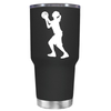 Girl Shooting Basketball 30 oz Tumbler