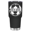 Personalized Soccer Ball 30 oz Tumbler