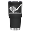 Monogrammed Golf Ball 30 oz Tumbler