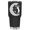 Personalized Women Golfer 30 oz Tumbler