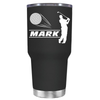 Personalized Golfer 30 oz Tumbler