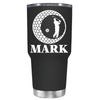 Personalized Golfer in Ball 30 oz Tumbler