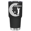 Personalized Golfer in Half Ball 30 oz Tumbler