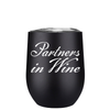 Partners in Wine 12 oz Stemless Wine Tumbler