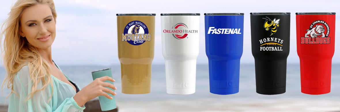 customized rtic tumbler