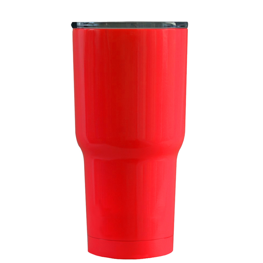 RTIC Classic Red Santa Suit on Red Gloss 20 oz Tumbler Cup