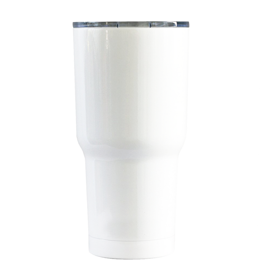 RTIC Snowman on White 20 oz Tumbler Cup