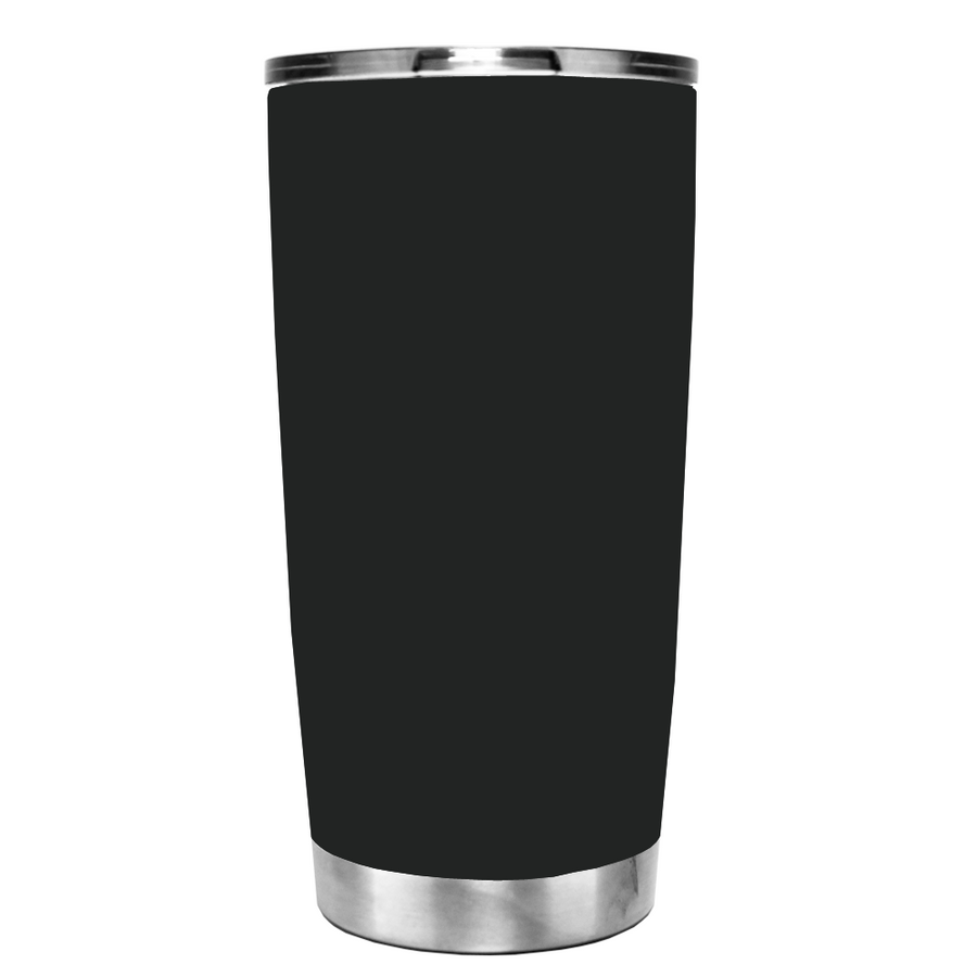 YETI 20 oz Because I'm the Teacher on Black Matte Tumbler