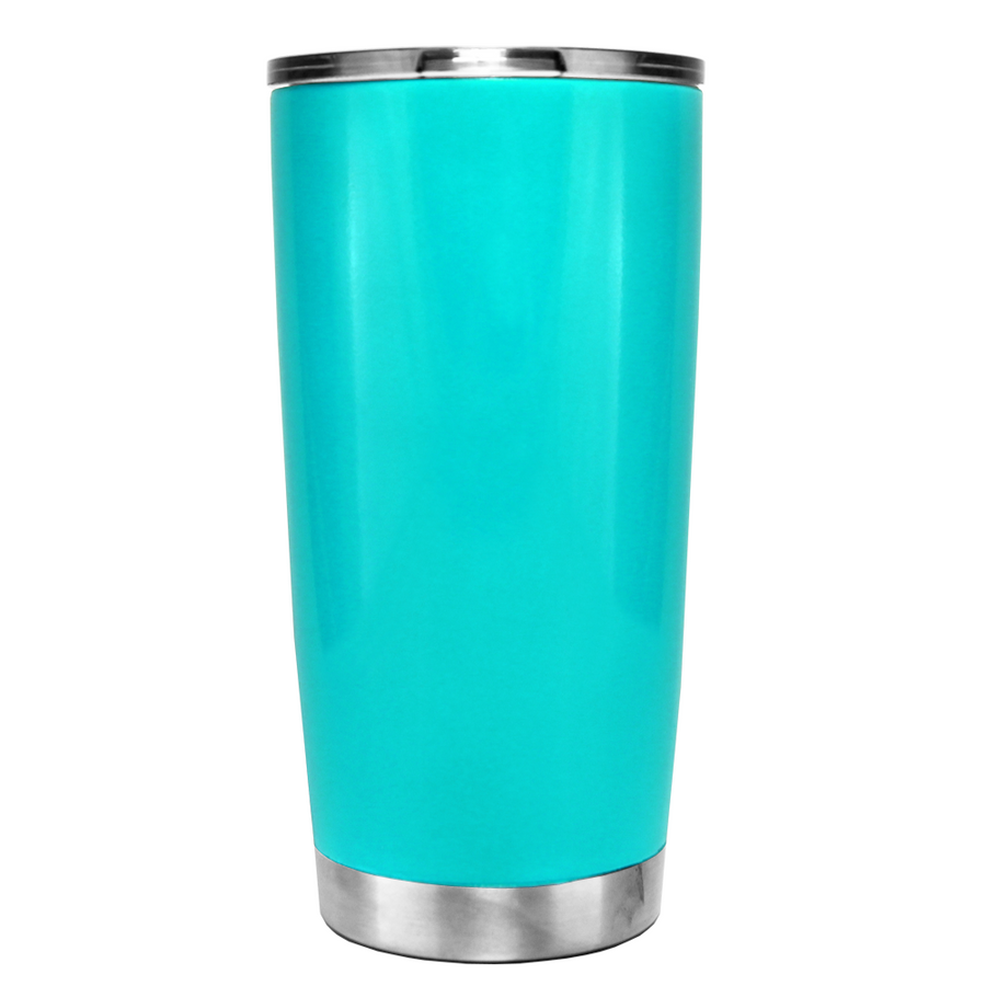 YETI Life is Better in Flip Flops on Seafoam 20 oz Tumbler