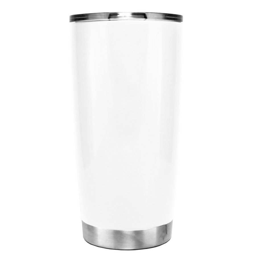 YETI Life is better in Flip Flops on White 20 oz Tumbler