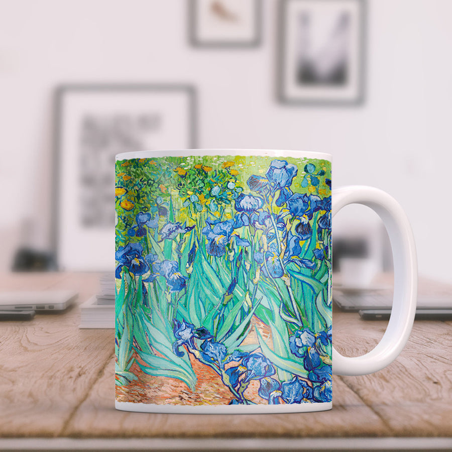 Van Gogh - Irises 11oz Coffee Mug