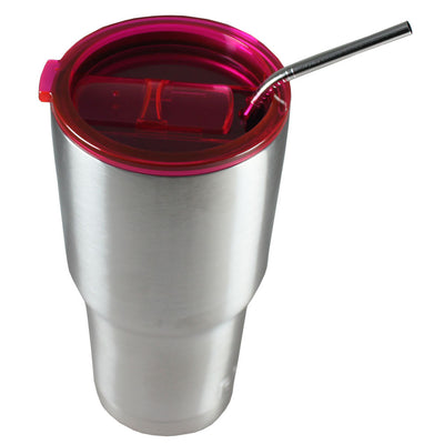 Splash Proof Lid Red for 30 oz Tumblers