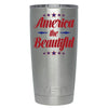 YETI American the Beautiful on Stainless 20 oz Tumbler