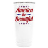 YETI American the Beautiful on White 20 oz Tumbler