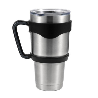 Black Grey 30 oz Tumbler Handle