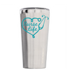 Corkcicle 16 oz Aqua Nurse Life on Stainless Tumbler
