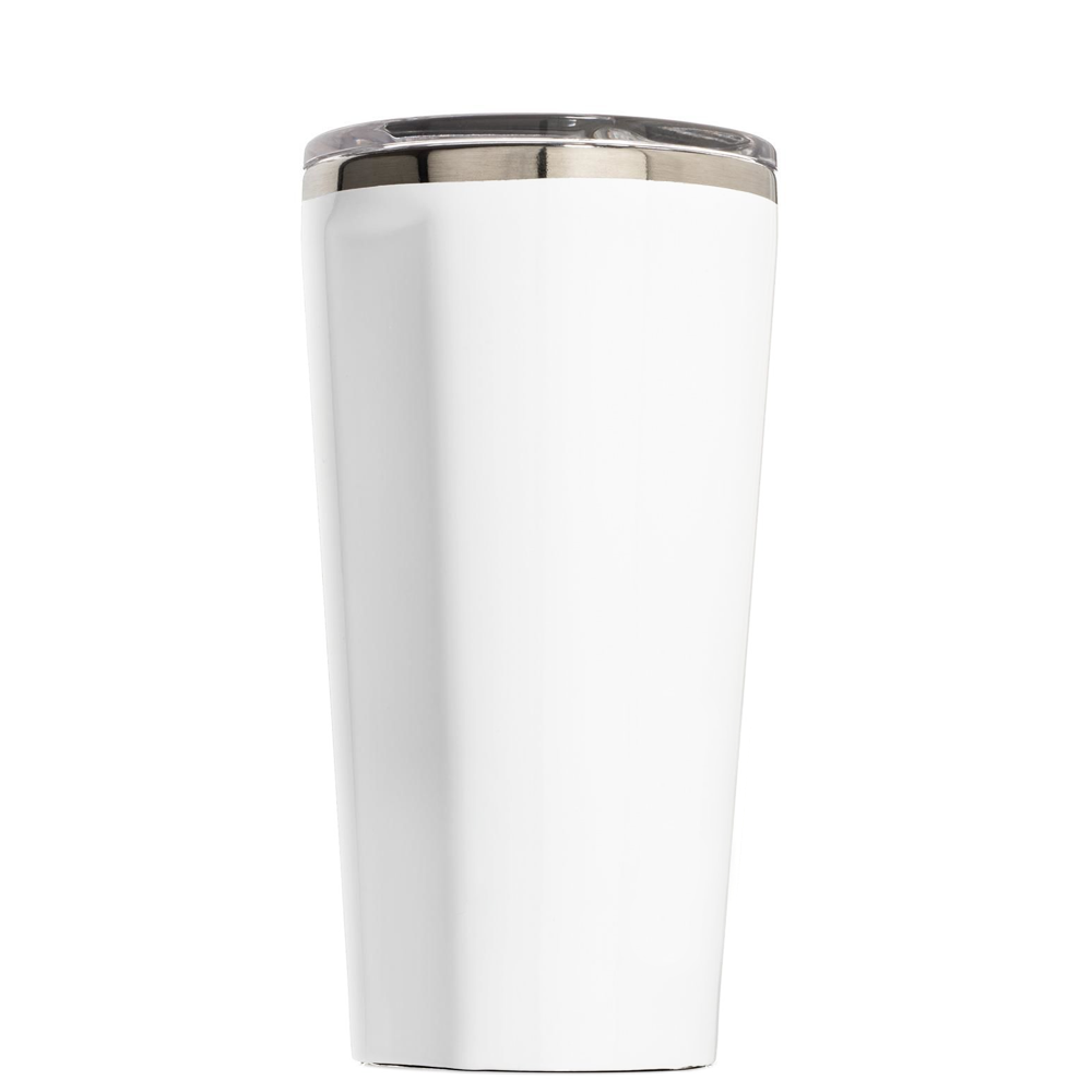 Corkcicle Keep Calm Its Almost Christmas on White 16 oz Tumbler Cup ...