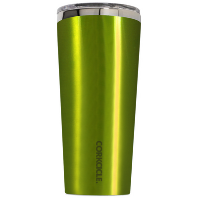 Corkcicle 24 oz Candy Apple Green Translucent Tumbler