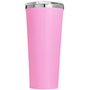 Corkcicle 24 oz Think like a Proton and Stay Positive on Pretty Pink Tumbler