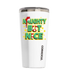 Corkcicle Naughty But Nice on White 16 oz Tumbler Cup