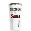 Corkcicle 16 oz Believe in Santa on White Tumbler