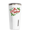 Corkcicle 16 oz Be Joyful on White Tumbler