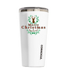 Corkcicle Merry Christmas Deer on White 16 oz Tumbler Cup