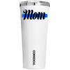 Corkcicle 24 oz Police Mom on White Gloss Tumbler