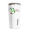 Corkcicle 16 oz Believe in the Holiday on White Tumbler