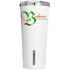 Corkcicle Believe on White 24 oz Tumbler Cup