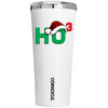Corkcicle Ho Cubed with Hat on White 24 oz Tumbler Cup