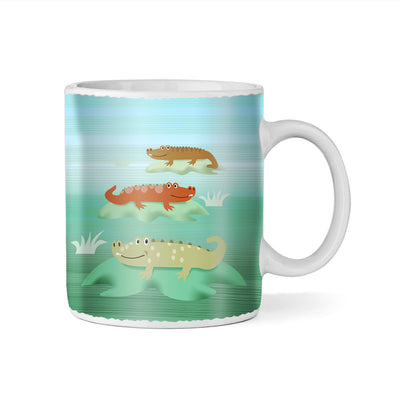 Alligator City Monogram 11oz Coffee Mug