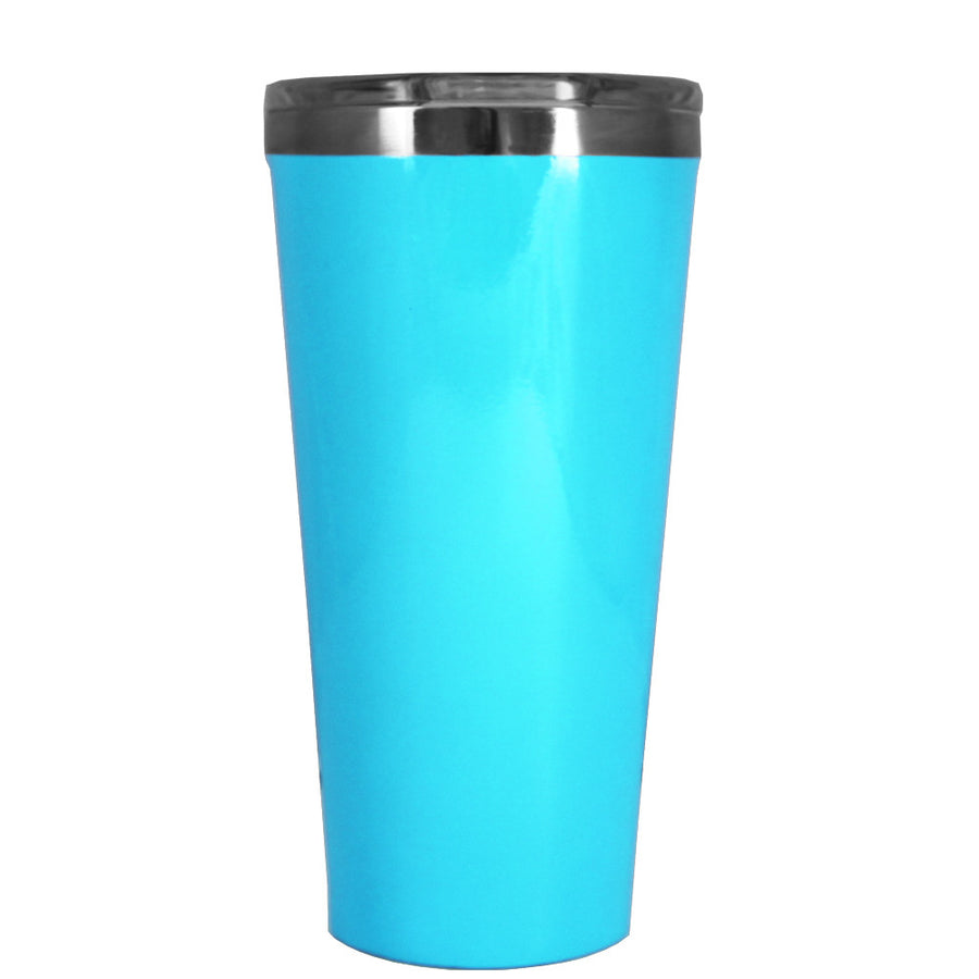 Corkcicle 16 oz Baby Powder Blue Gloss Tumbler