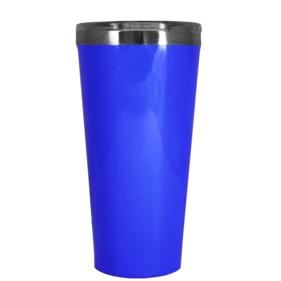 Corkcicle 16 oz Blue Gloss Tumbler