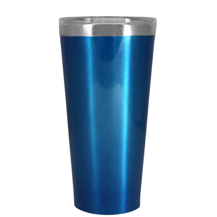 Corkcicle 16 oz Blue Translucent Tumbler
