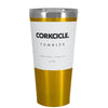 Corkcicle 16 oz Gold Translucent Tumbler