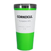 Corkcicle 16 oz Green Gloss Tumbler