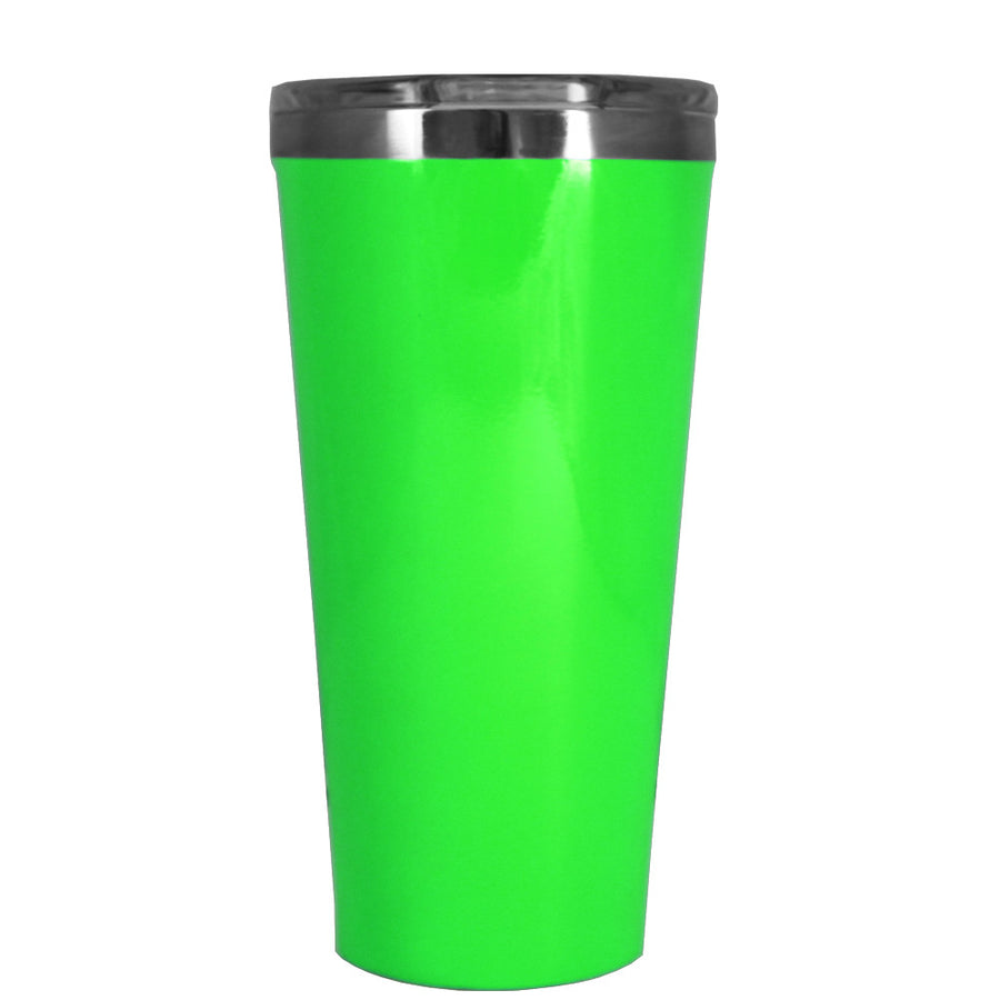 Corkcicle 16 oz Neon Green Tumbler