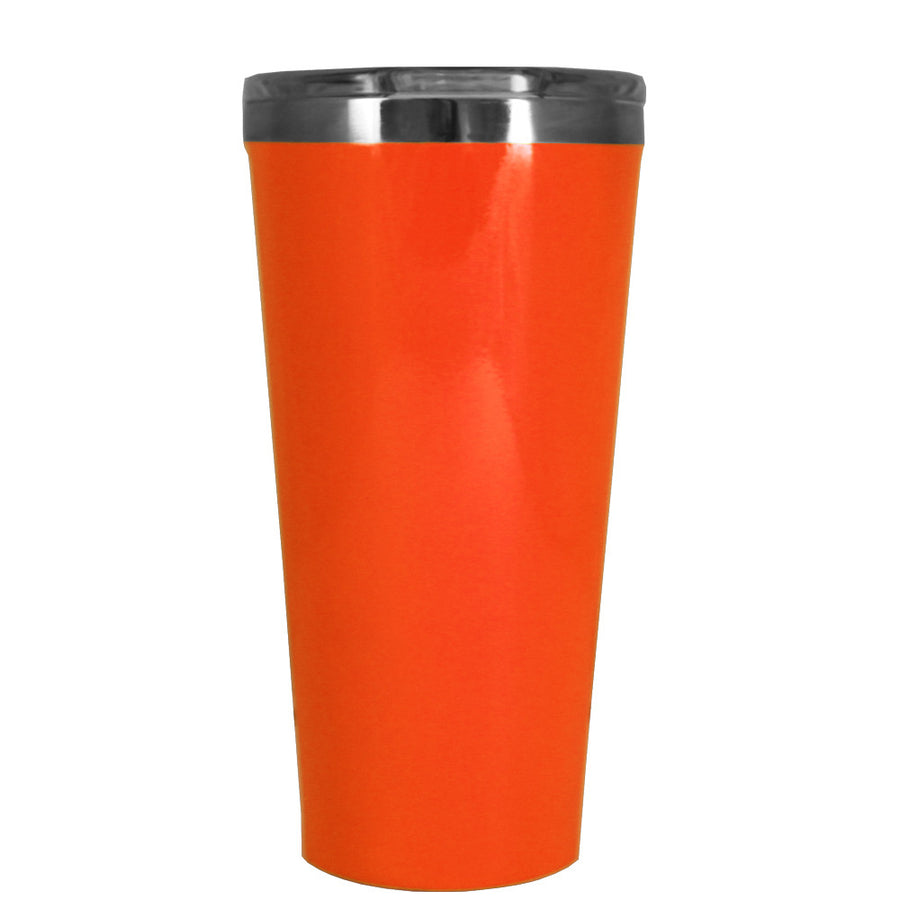 Corkcicle 16 oz Orange Gloss Tumbler