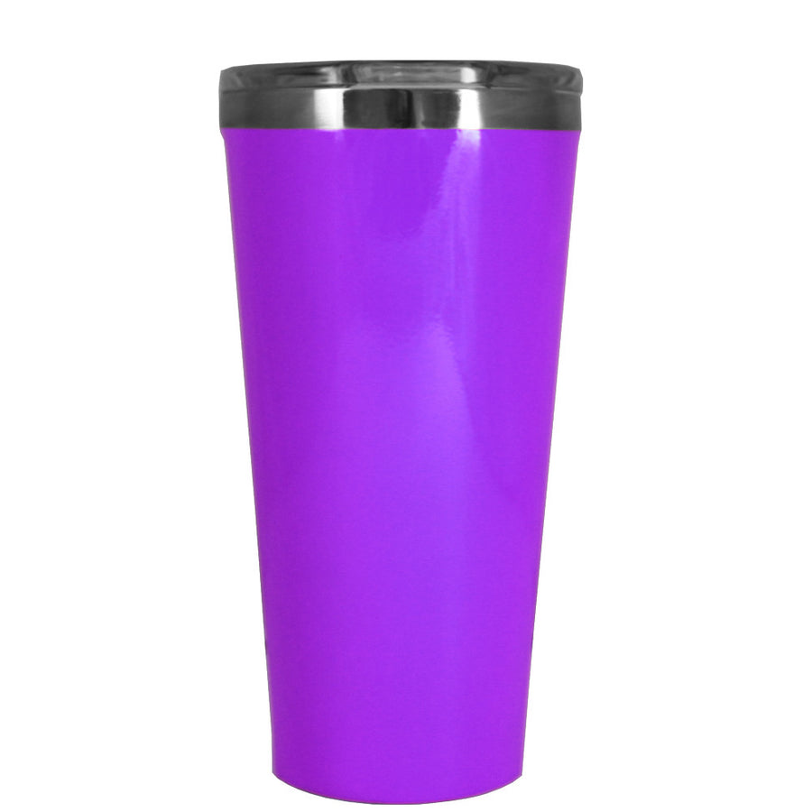 Corkcicle 16 oz Purple Gloss Tumbler