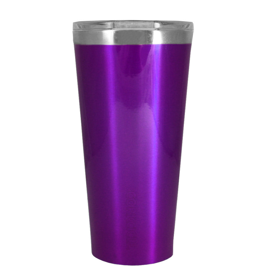 Corkcicle 16 oz Purple Translucent Tumbler