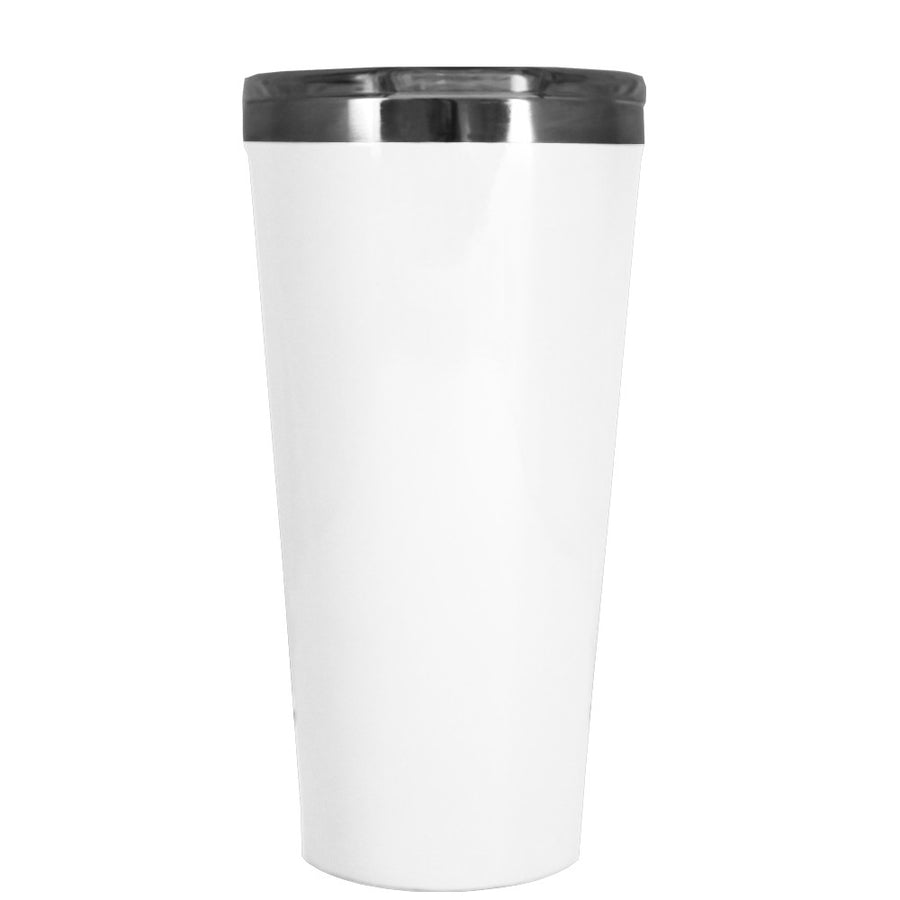 Corkcicle 16 oz White Gloss Tumbler