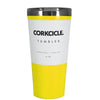 Corkcicle 16 oz Yellow Gloss Tumbler