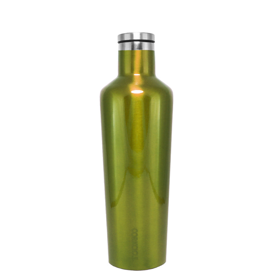 Corkcicle Candy Apple Green Translucent 16 oz Canteen