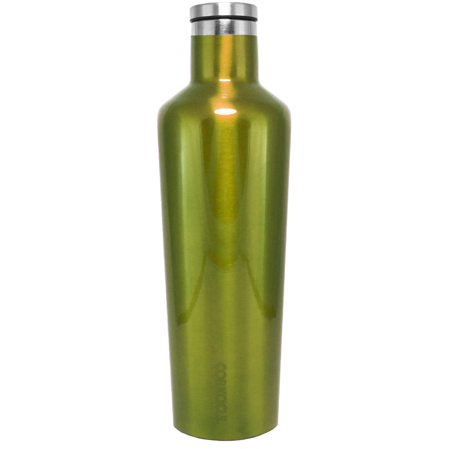 Corkcicle Candy Apple Green Translucent 25 oz Canteen