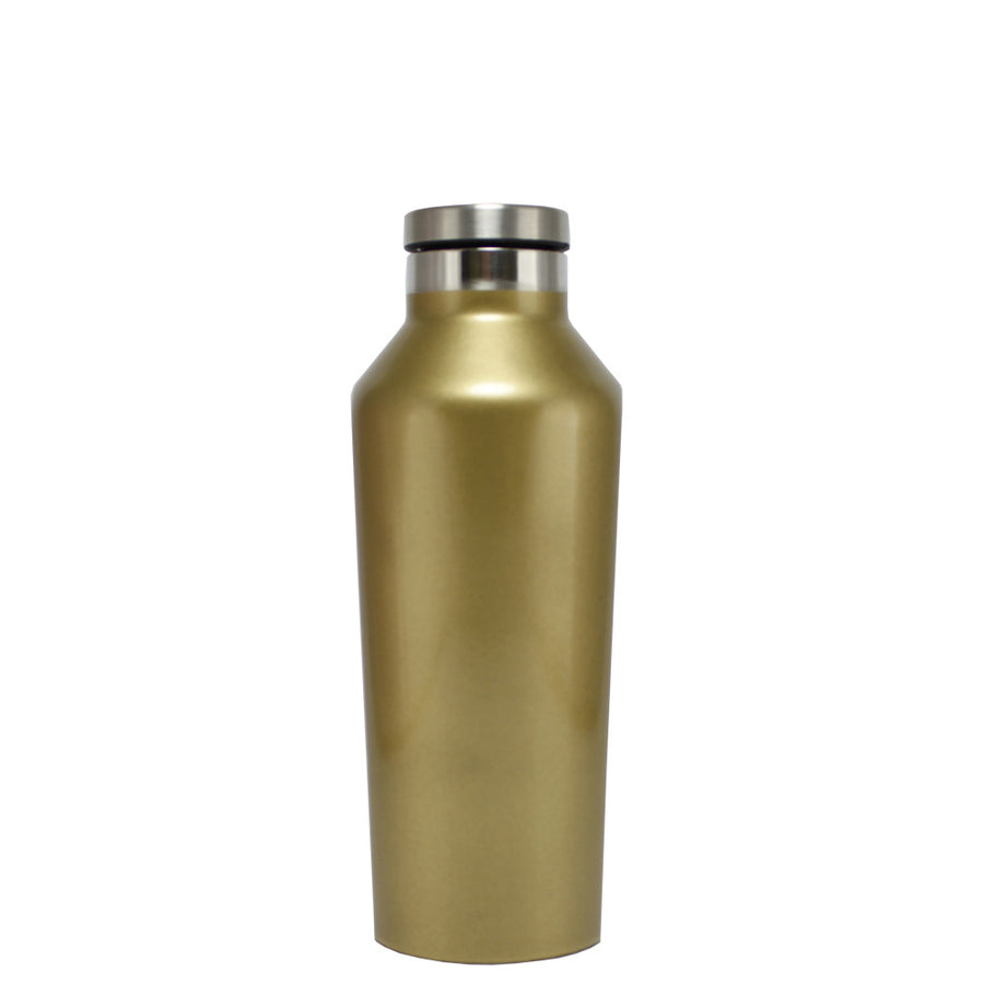 Corkcicle Gold Gloss Translucent 9 oz Canteen