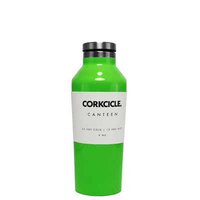 Corkcicle Green Gloss 9 oz Canteen